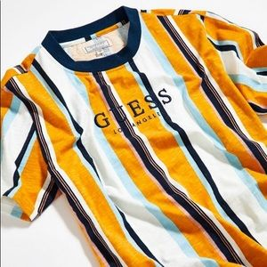 GUESS Original Los Angeles Striped Tee